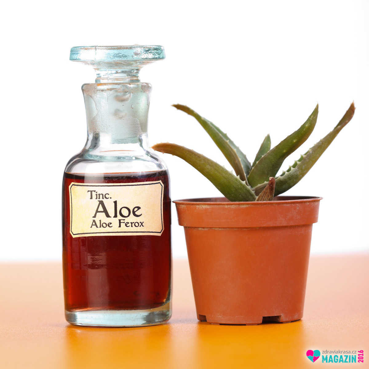 Aloe ferox má rovněž léčivé účinky a používá se při výrobě kapek a tinktur.