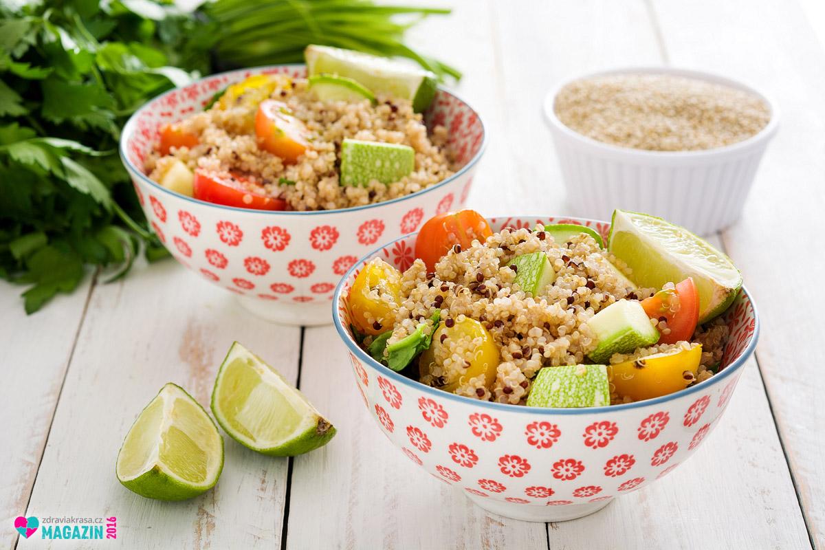 Quinoa umí zpestřit náš jídelníček a hodí se do mnoha jídel, kde nahradí i klasické obiloviny s lepkem. Sama je bezlepková a vhodná proto i pro bezlepkovou výživu.