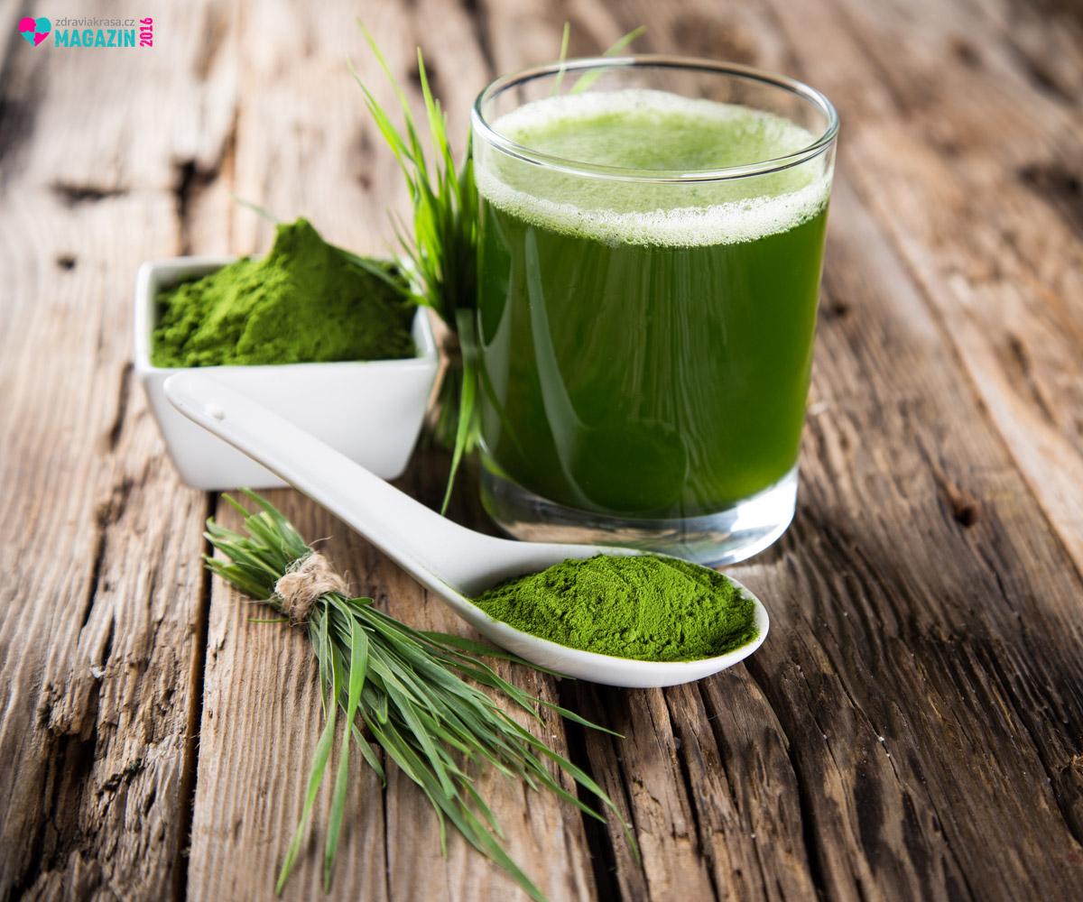 Zelený ječmen je považován za jednu ze superpotravin moderní kuchyně.