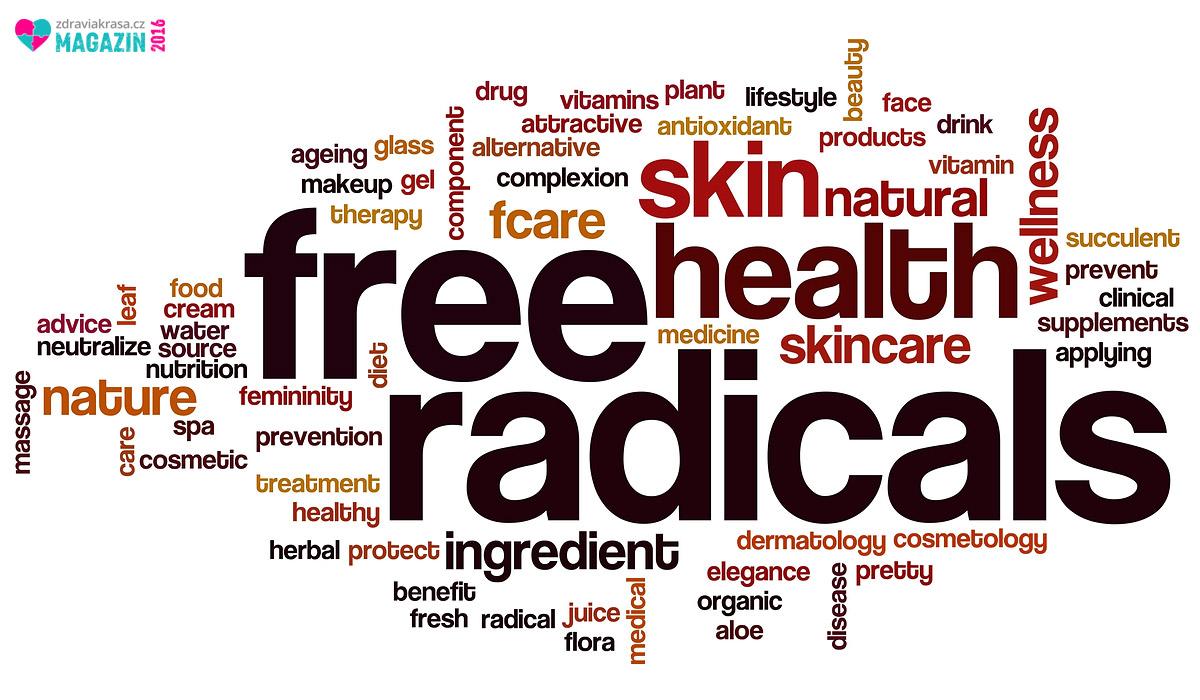 Takzvané volné radikály, anglicky free radicals, nemusí být metlou lidstva. Obvykle je tento produkt vedlejší látkové výměny médii prezentován jako největší zhouba pro lidstvo. Jenomže zcela tak jednoznačné to není. Problém nastává pouze tehdy, když dojde k narušení rovnováhy mezi volnými radikály a antioxidanty.
