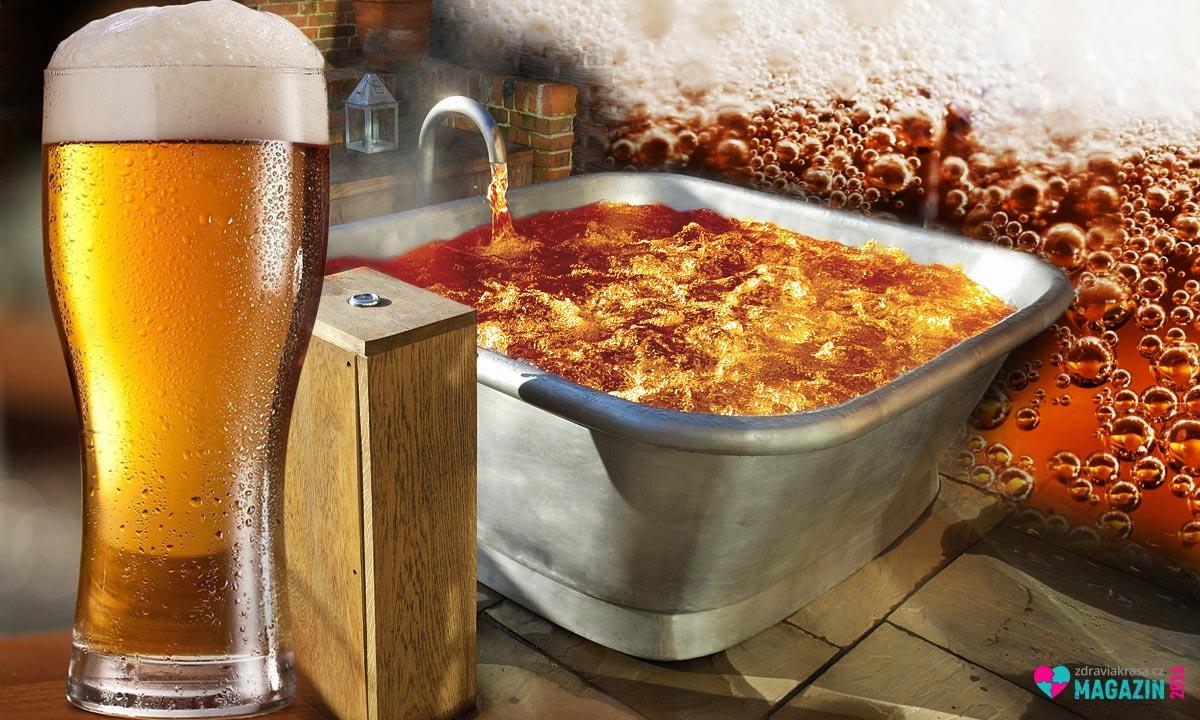 Pivní lázně nejsou jen pro milovníky piva.