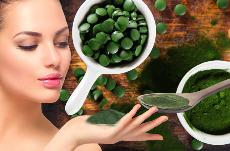 Chlorella pyrenoidosa je jednobuněčná sladkovodní řasa s velkým obsahem bílkovin a patří mezi zelené supotraviny jako zelená pšenice nebo ječmen.