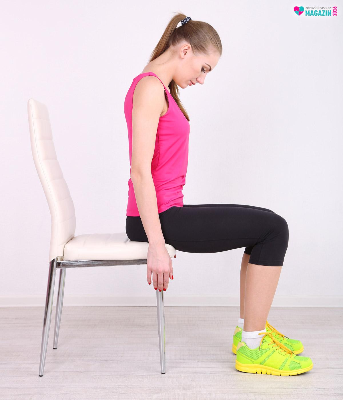 U cvičení podle Ludmily Mojžíšové se cvičí poměrně jednoduché cviky. Jejich efekt při pravidelném cvičení je však ohromující.