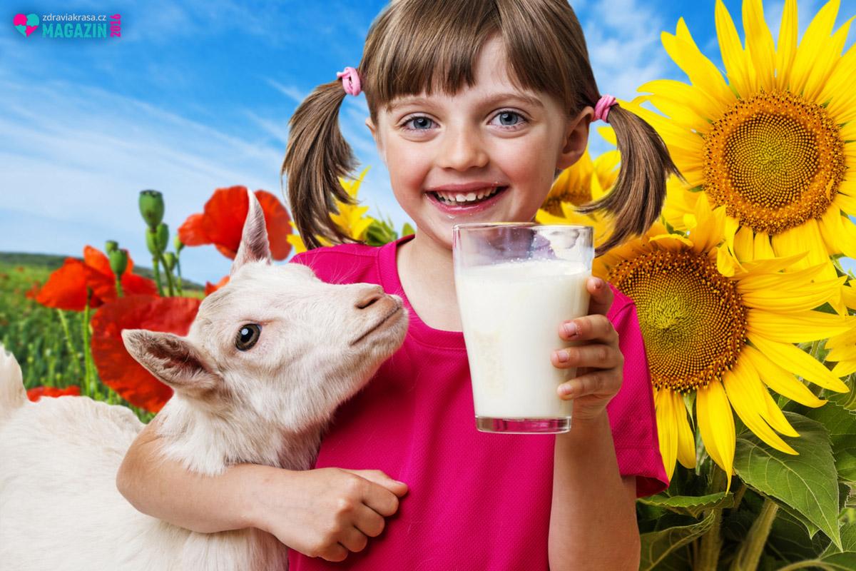 Kozí mléko i kozí máslo mají schopnost nejen přispívat ke zdraví, ale i omlazovat.