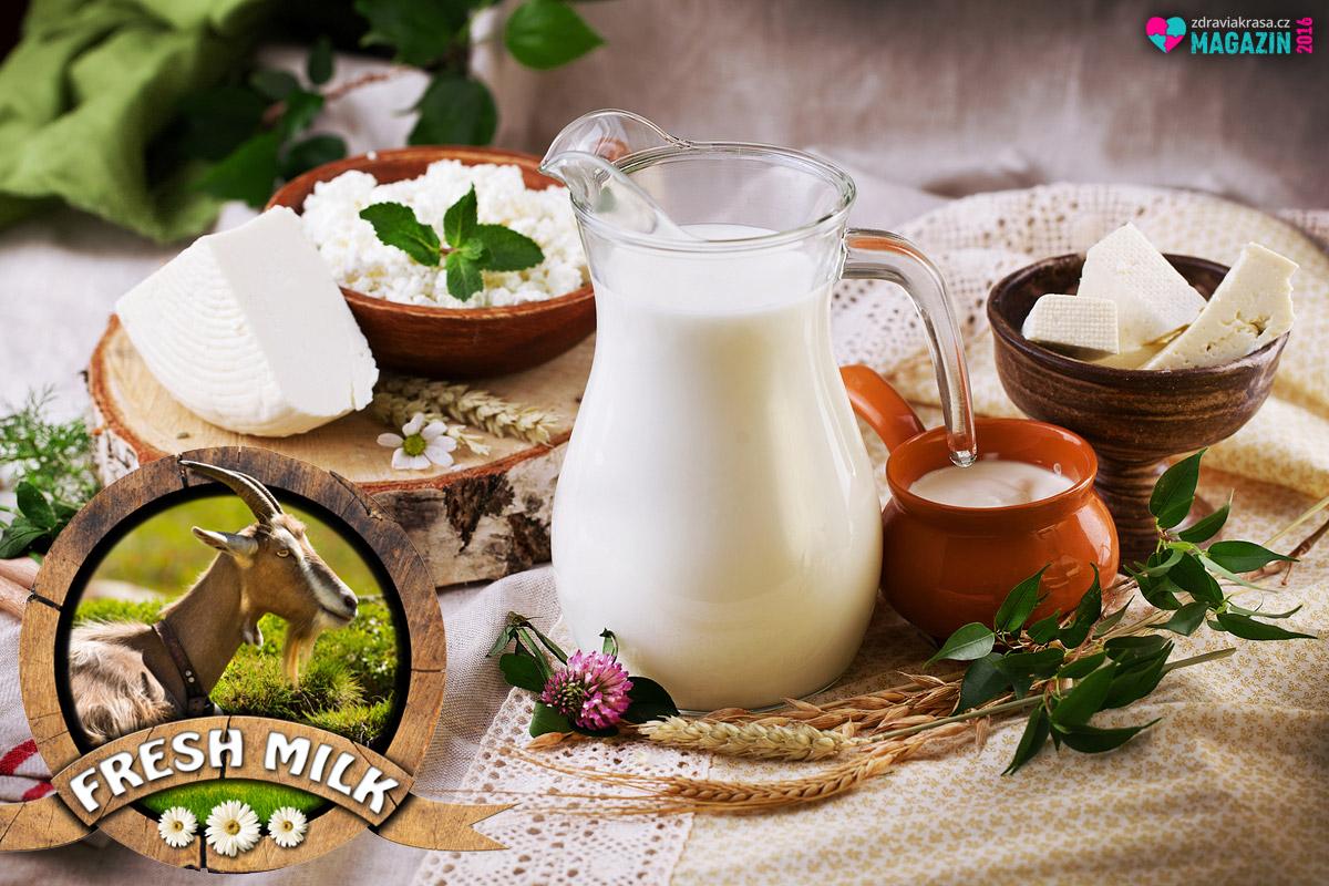 Kozí mléko obsahuje řadu tělu prospěšných látek.