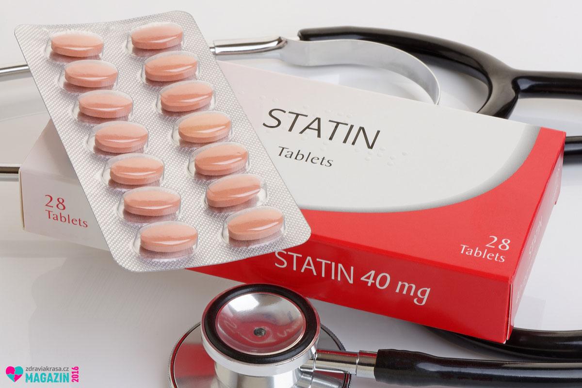 Lékem na cholesterol je statin.