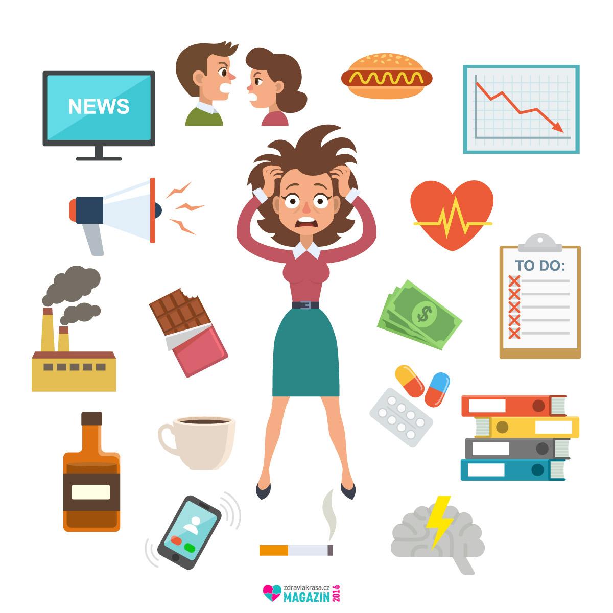 Stresu je nutné naučit čelit. Jinak nás dostihne nejen ve formě psychických, ale i fyzických potíží.
