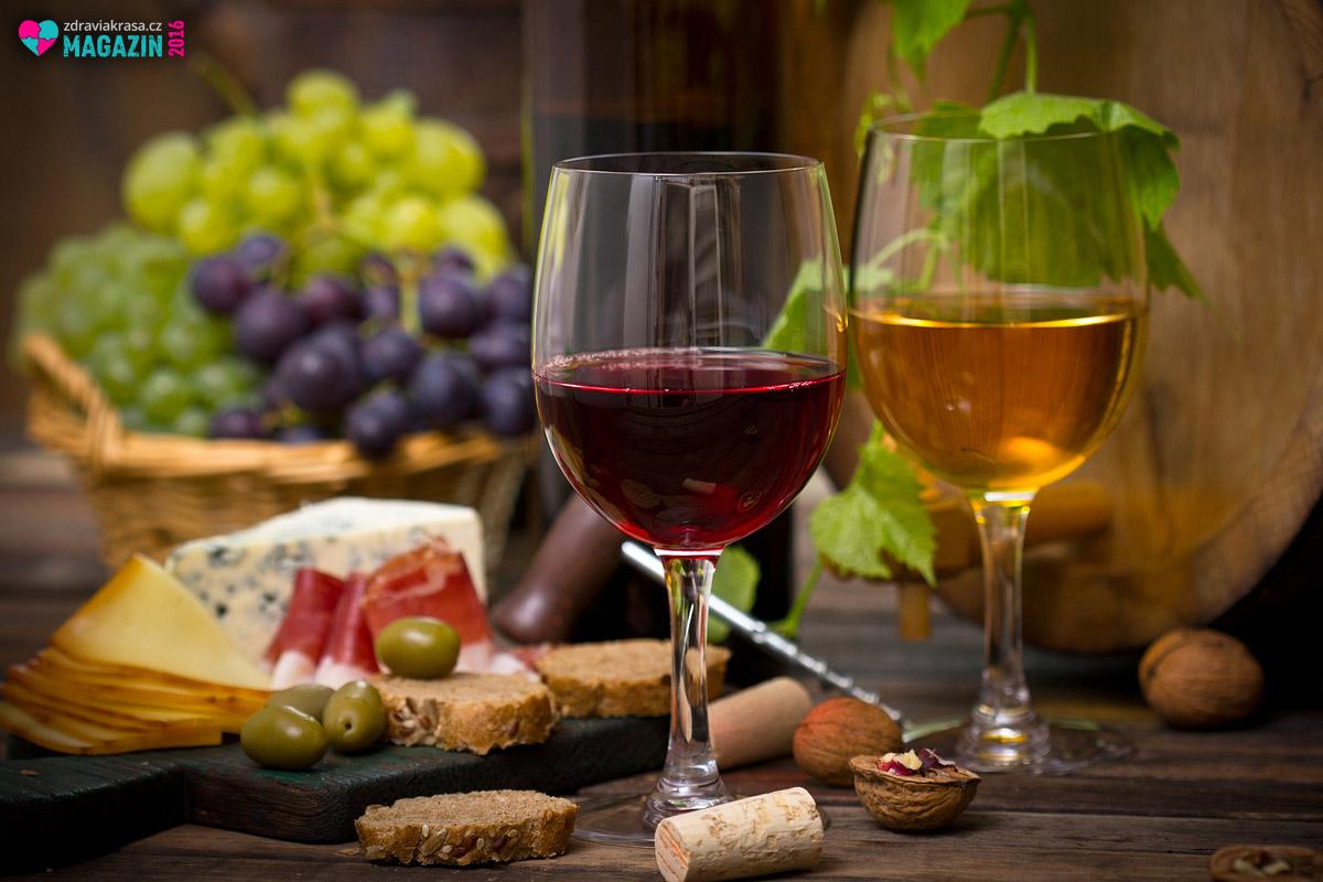Popisek: Alkohol v podobě kvalitního vína vám Ornishova dieta nezakáže. Víno patří podle její principů mezi nejzdravější potraviny.