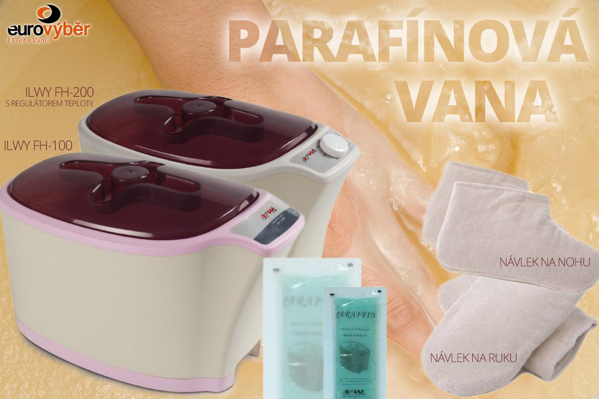 Parafínové vany ILWY WPB-100 a ILWY FH-200 jsou ideální jak pro domácí wellness, tak pro zdravotnická zařízení a beauty salony.