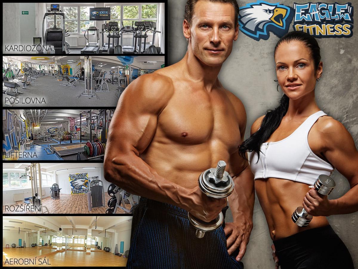 Eagle Fitness, to je moderní fitness Praha 9, kde nechybí klasická posilovna, kardiozóna, lifterna, aerobní sál a sál pro bojová umění, ani prostory pro relaxaci nebo diagnostiku.