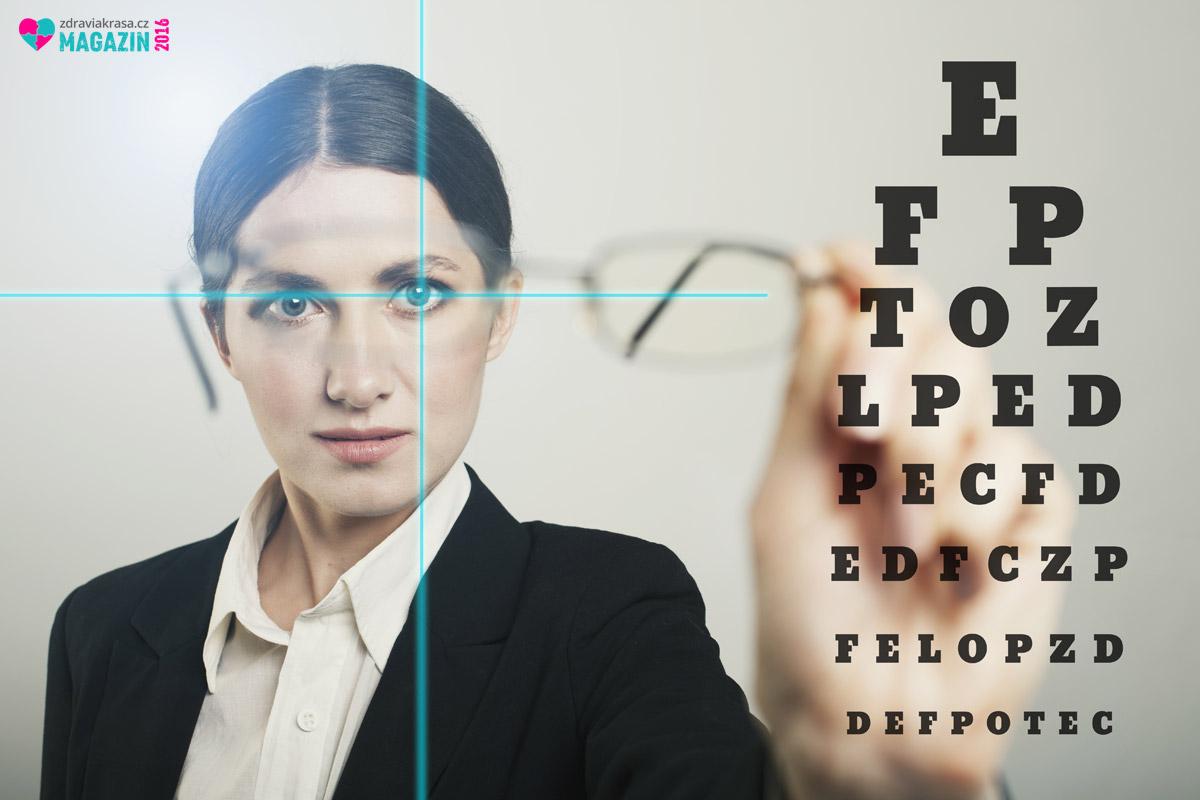 Laserová operace očí umí vyřešit problém s krátkozrakostí na celý život.