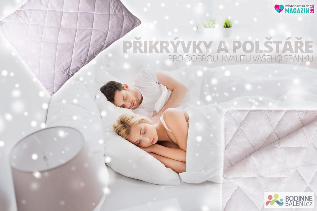 """Nenechte nevhodné přikrývky a polštáře, aby vám """"odnesly spaní""""! To, jak se vyspíme a jak se ráno cítíme ovlivňují více, než by se mohlo zdát."""