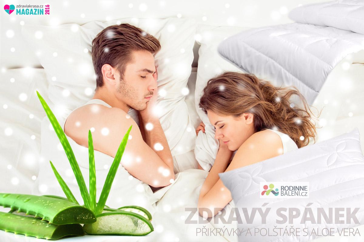 Velkým hitem poslední doby jsou přikrývky a polštáře s obsahem Aloe vera.