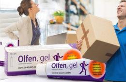 Bolest zad umí znepříjemnit život více, než by se mohlo zdát. Od bolesti uleví změna životního stylu, více ergonomie, ale i Olfen gel.