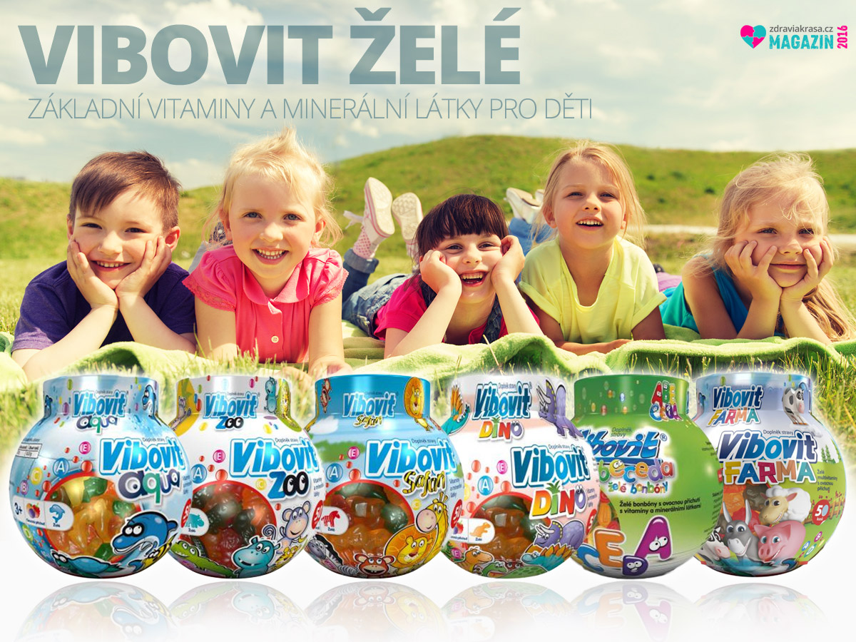 Vývoj dítěte ovlivní kvalitní vitamíny a minerály.