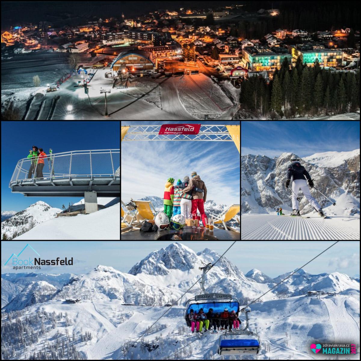 Lyžařské středisko v Nassfeldu patří mezi nejvyhledávanější místa pro zimní dovolené.
