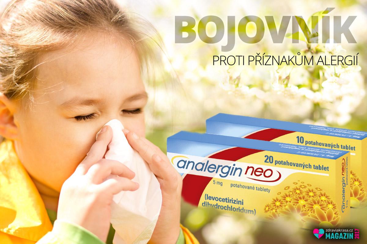 Analergin je přípravek proti alergiím. Je dostupný bez lékařského předpisu.
