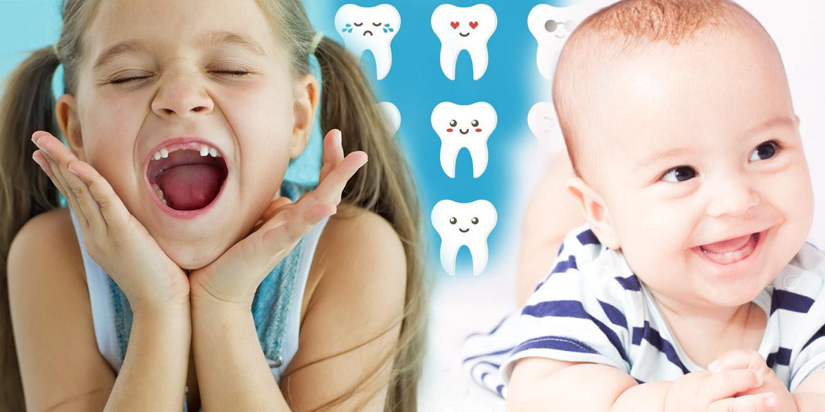 Víte, kdy rostou dětem zuby? Podívejte se do kalendáře růstu dětských zoubků. Víte, kdy můžete očekávat první dětské zuby a kdy který zub naroste?