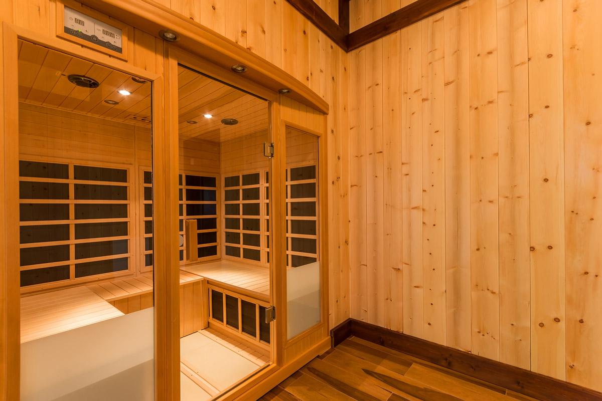 Finská sauna je klasika. Lze si ji pořídit i domů.