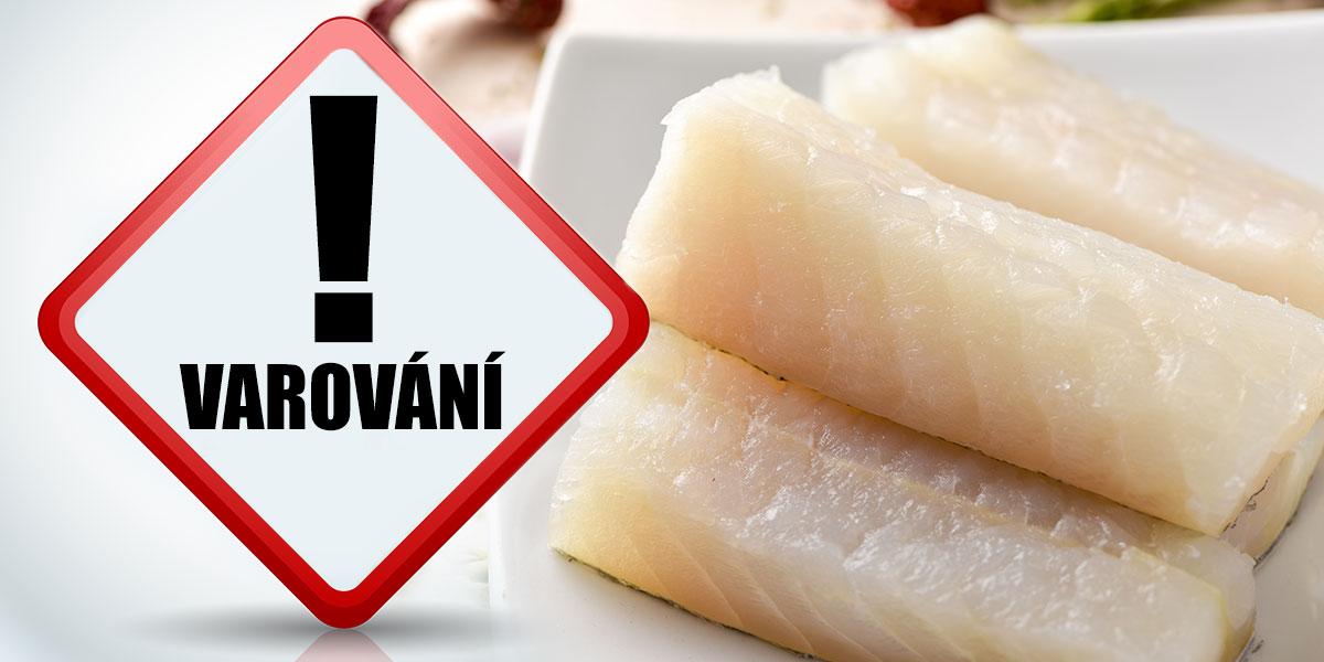 Mražená aljašská treska od dodavatele MISIEK Krzysztof Misiolek obsahovala pouze 24,9 % masa.