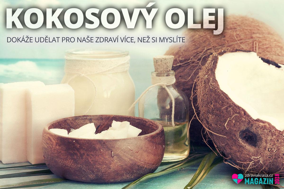 Kokosový olej dokáže udělat pro naše zdraví více, než si myslíte. A to jak v prevenci, tak při řešení konkrétních zdravotních problémů.