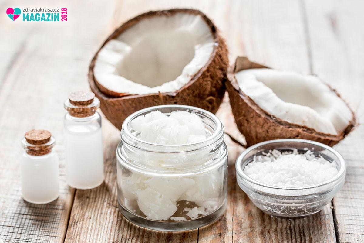 Kokosový olej pro zdraví je účinný při užívání vnitřně i zevně.