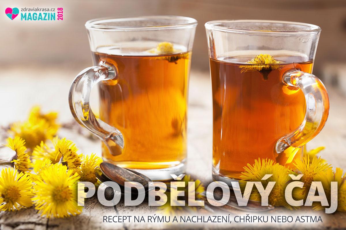 Podbělový čaj na rýmu a nachlazení – máme pro vás recept.
