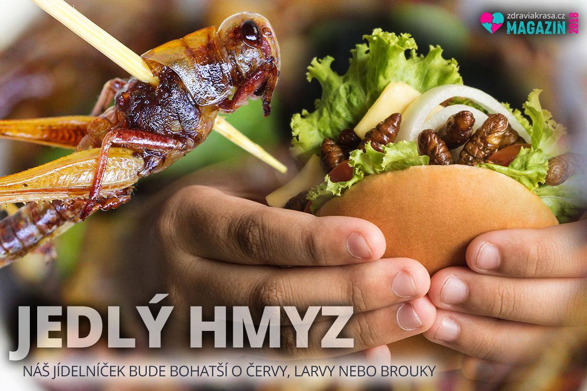 Od letošního roku je náš jídelníček bohatší o červy, larvy nebo brouky. Jedlý hmyz přichází na naše talíře!