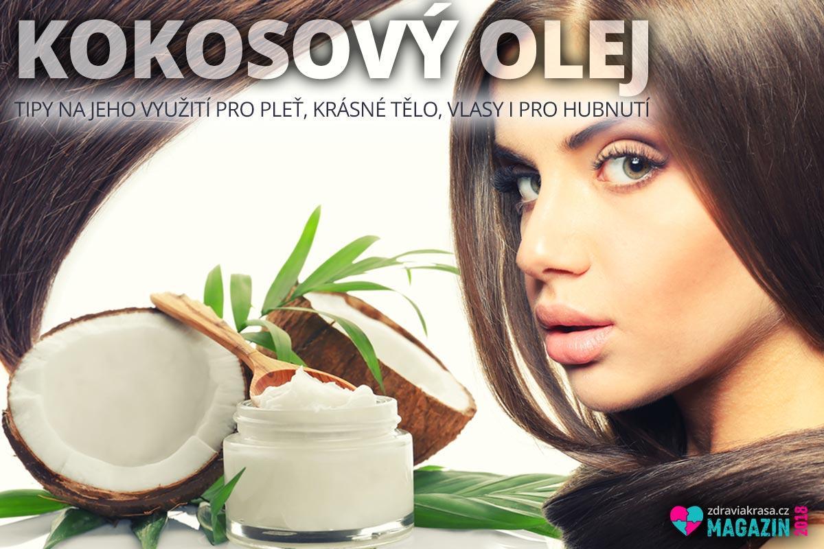 Kokosový olej má své místo v kosmetice i v péči o krásu.