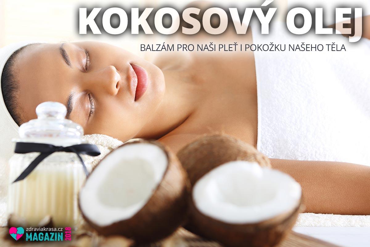 Kokosový olej je doslova balzámem pro naši pleť i pokožku našeho těla.