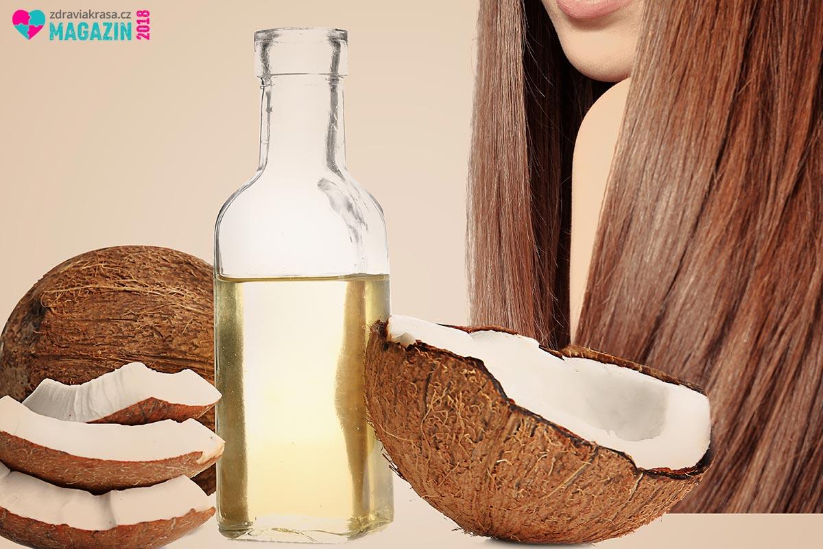 Kokosový olej je doslova zázrak i pro naše vlasy.