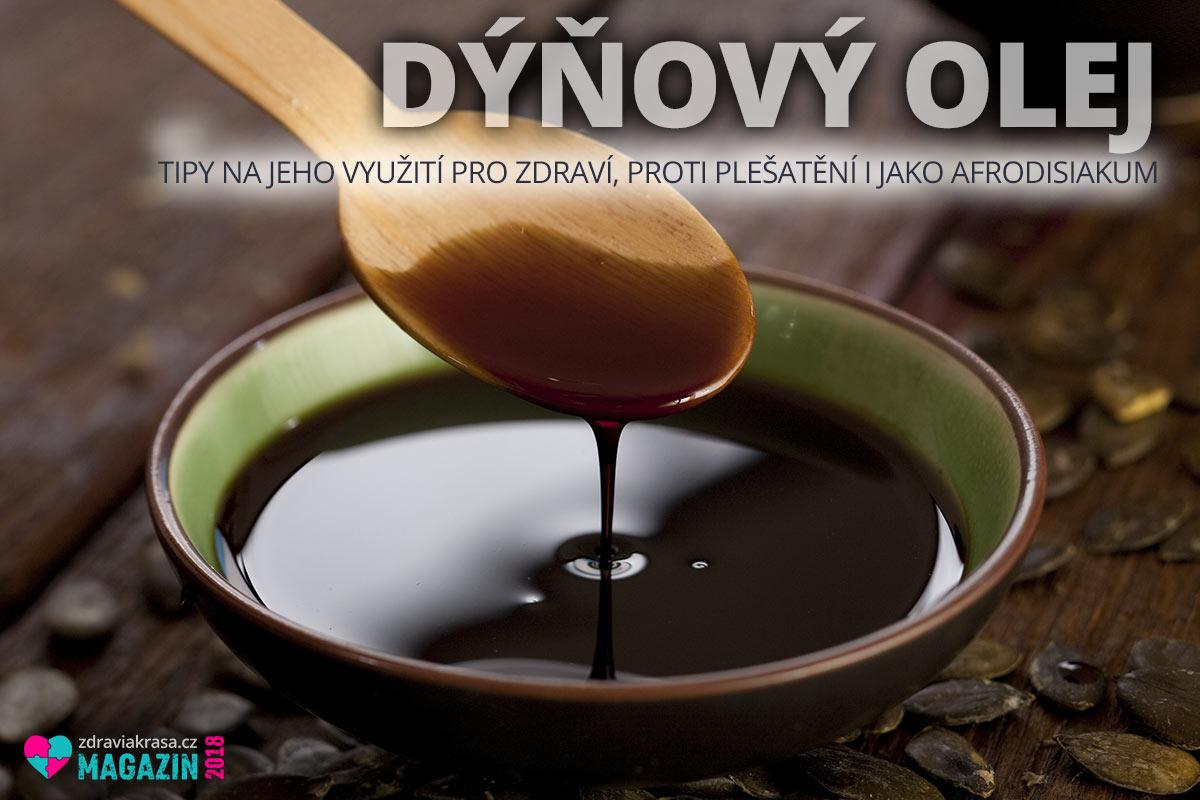 Dýňový olej je hustou tmavě zelenou, téměř černou, tekutinou. Voní a chutná po oříšcích.