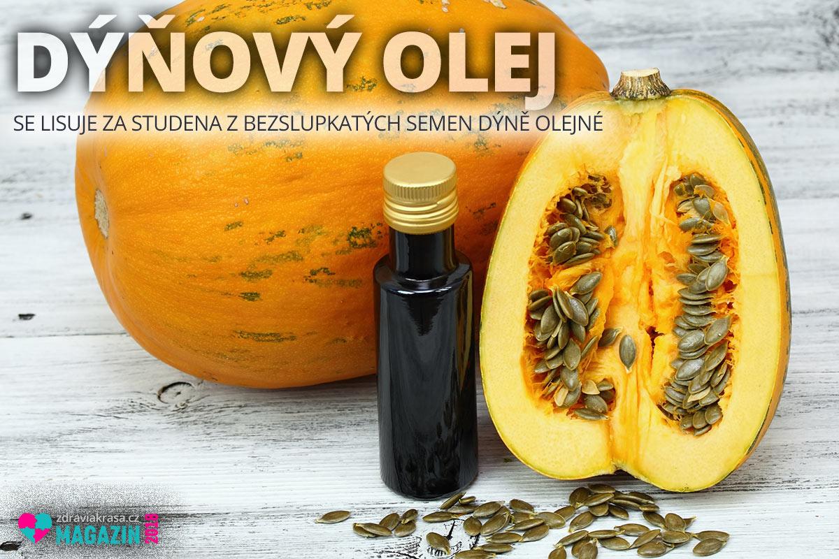 Dýňový olej se lisuje za studena z bezslupkatých semen dýně olejné.
