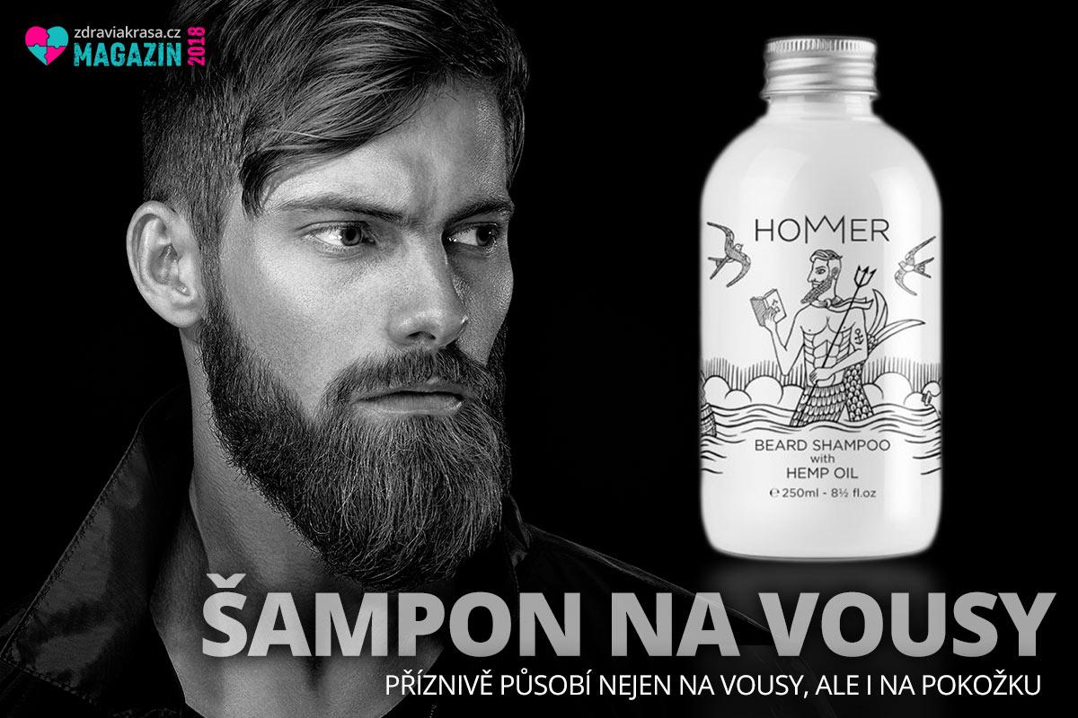 Užijte si kosmetiku pro vousy ze země, kde jsou vousy náboženstvím – z Řecka. Šampon na vousy značky HOMMER má čistící i hydratační vlastnosti. Příznivě působí nejen na vousy, ale i na pokožku.