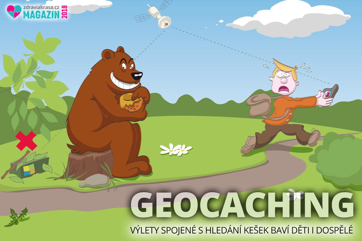 Geocaching – to je zdravý pohyb a zábava v jednom.