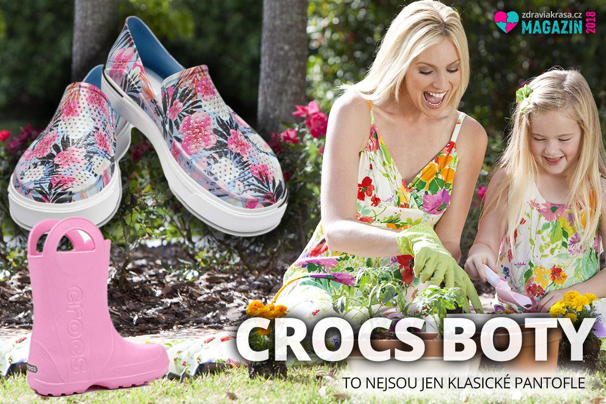 Crocs boty to nejsou jen klasické pantofle. (Tyto originální modely koupíte na Different.cz.)