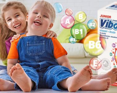 Vitaminy pro děti jsou vhodné jako doplněk zdravé a pestré stravy.