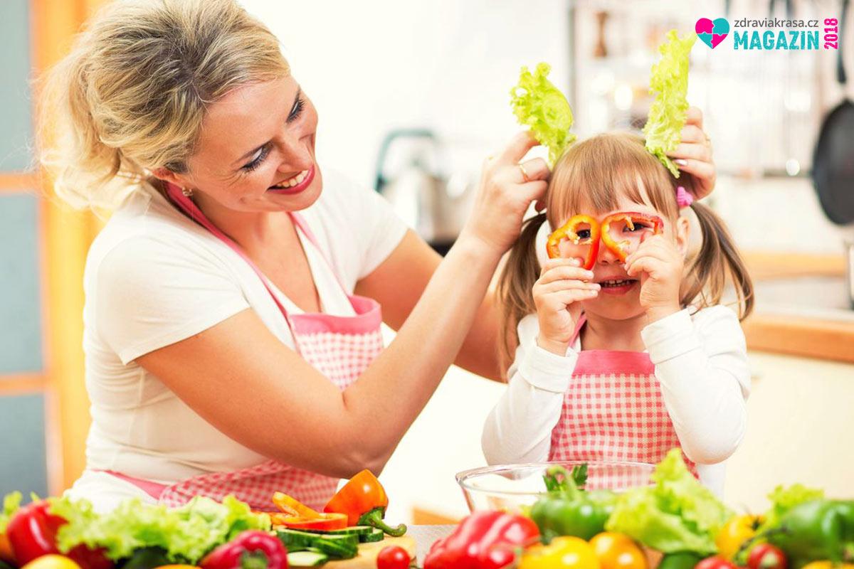 Naučte děti milovat zdravou, pestrou a přirozenou stravu.