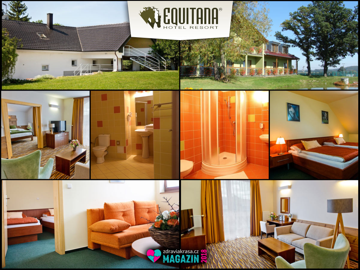 Wellness pobyty 2018 pro dvojice, jednotlivce i pro seniory –Equitana Hotel Resort je nabízí i ve speciálních letních balíčcích.