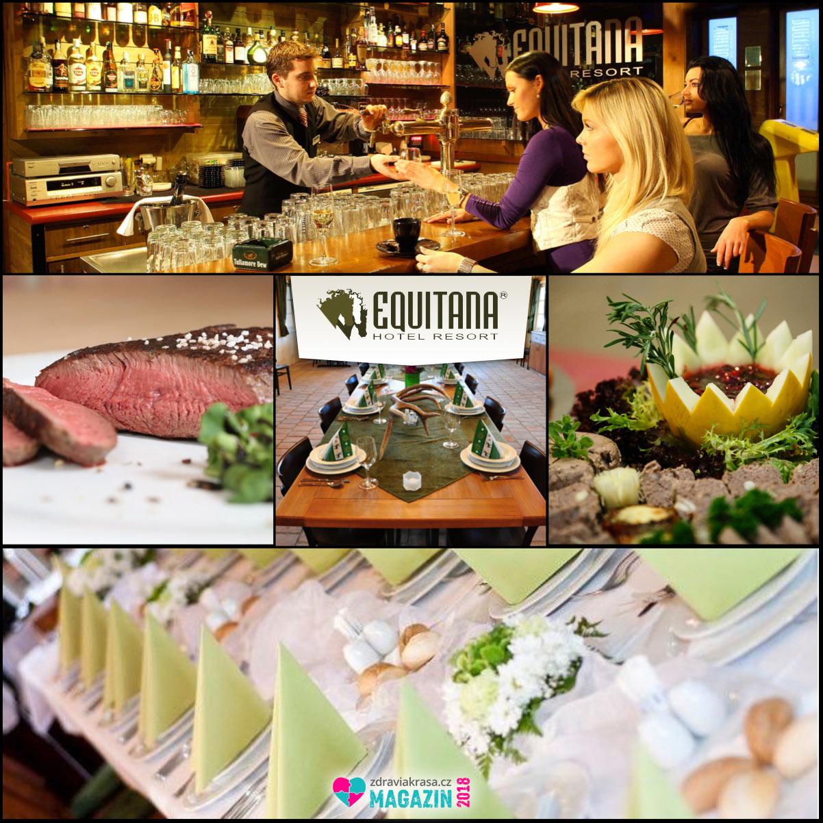 Equitana Hotel Resort – to je i kvalitní gastronomie.