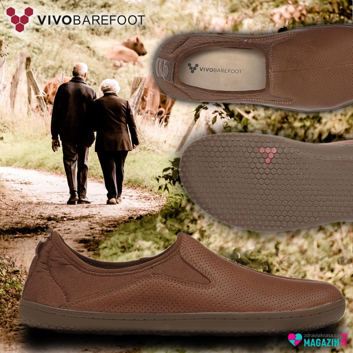 Kožené boty VIVOBAREFOOT se vyrábí z kůže Pittards® Wild Hide. Zalíbení v nich najdete bez ohledu na věk.
