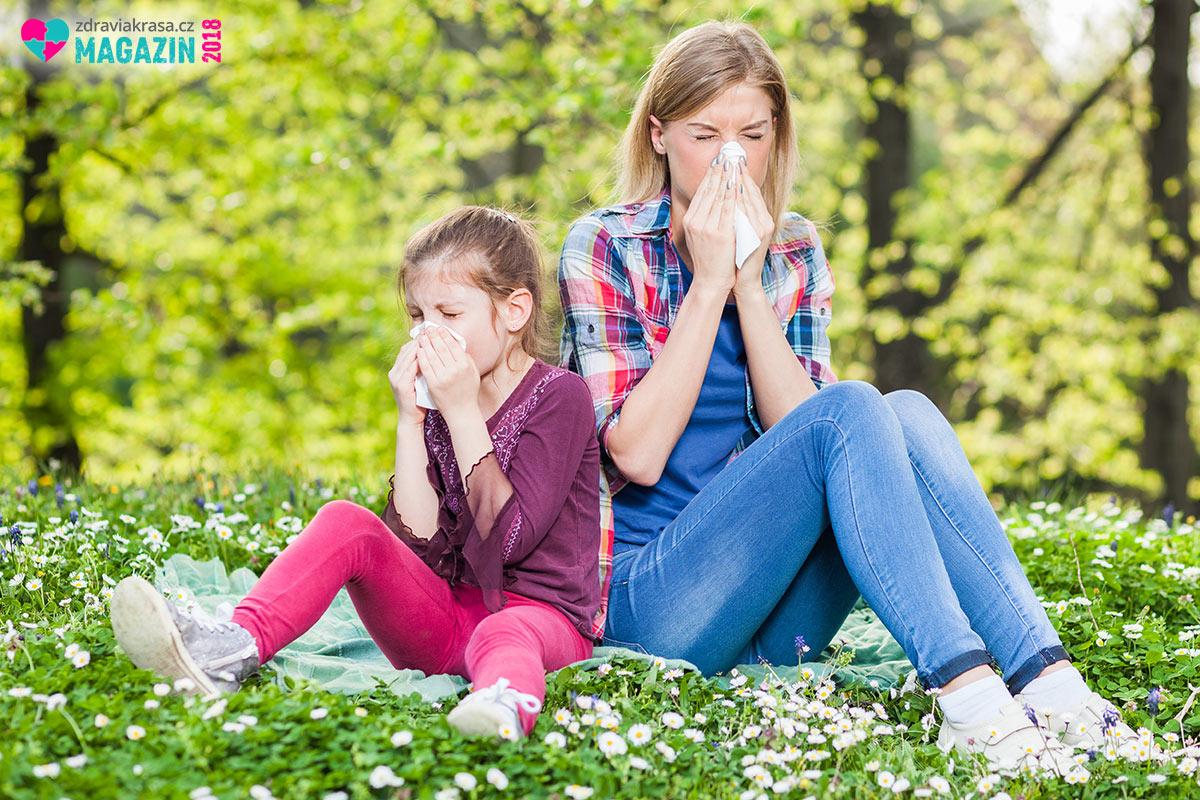 Léčba alergie: Nachlazení nebo alergie? Jasnou odpověď vám dá alergolog.
