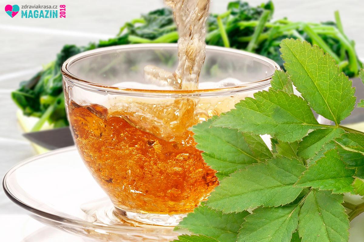 Čaj z bršlice se užívá při zavodnění, problémech s močovou soustavou, při močových a ledvinových kamenech, když chcete odkyselit organismus, při diabetu 2. typu nebo při hubnutí.