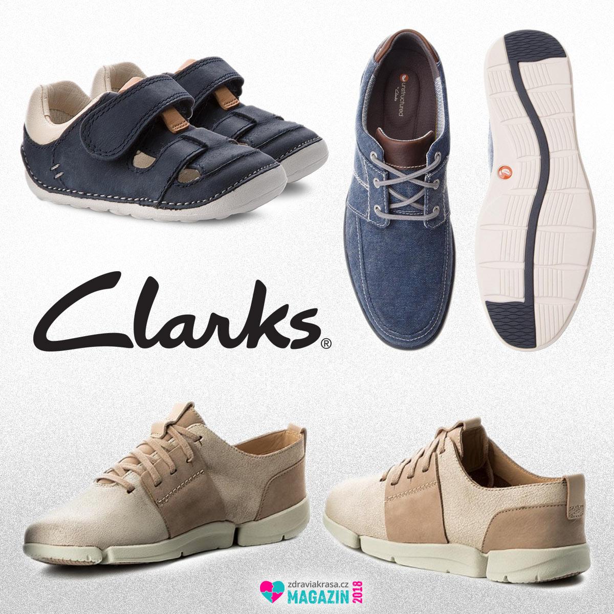 Je v hledáčku vašeho zájmu zdravá obuv? Boty Clarks jsou přesně tím co hledáte.