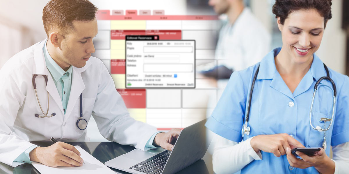 Kvalitní rezervační systém pro lékaře, zdravotnická zařízení i různé poradce výživy je nově online a umí více než ta nejlepší sekretářka či zdravotní sestra.