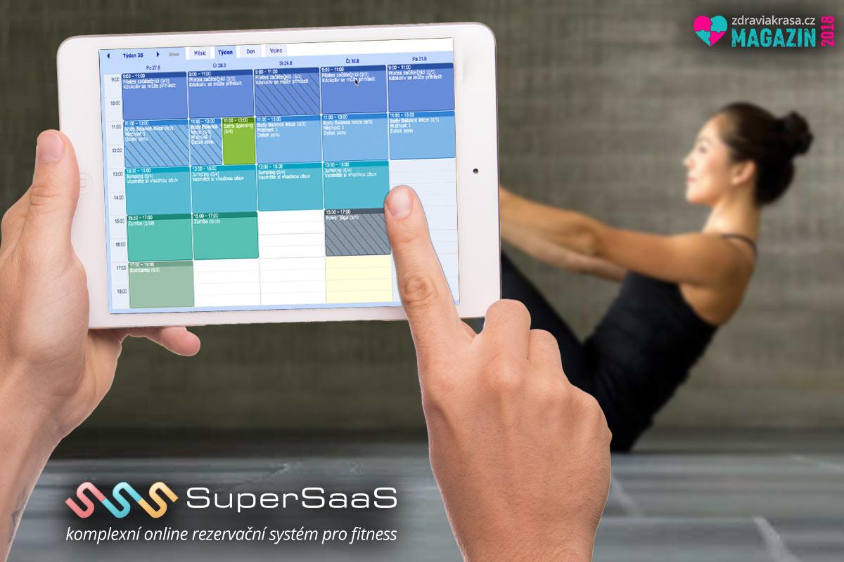 Rezervační systém SuperSaas nabízí i možnost skupinových rezervací.