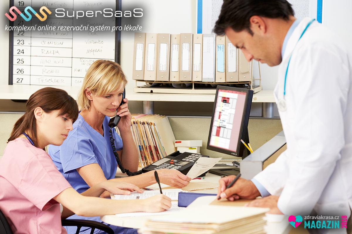 Vyzkoušejte si zcela zdarma unikátní rezervační systém pro lékaře.