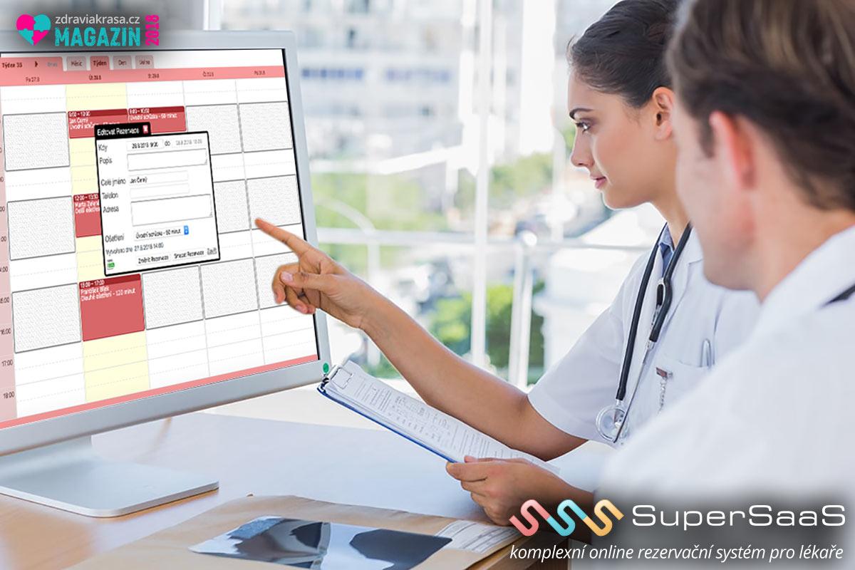 Komunikujte s pacienty tak, jak to v 21. století očekávají. Pomůže vám v tom rezervační systém SuperSaaS.