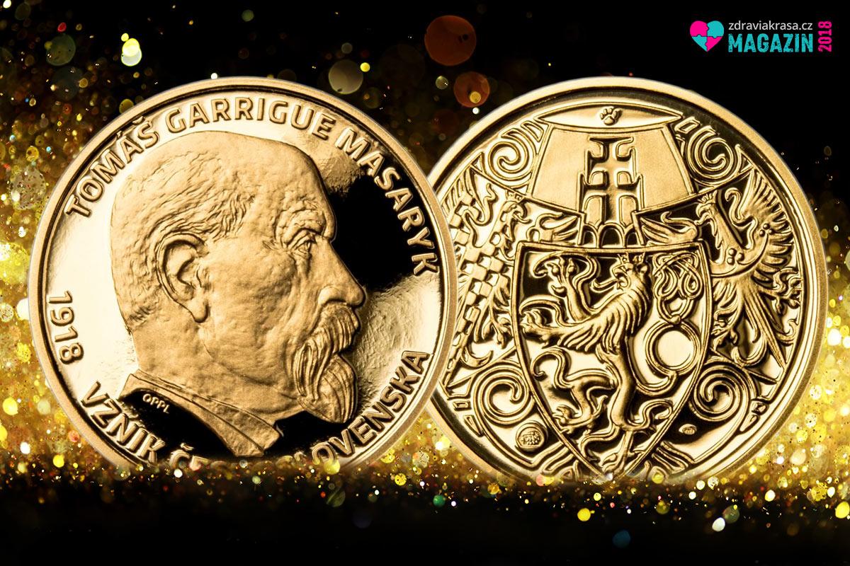 U příležitosti stého výročí vzniku Československa vydala Pražská mincovna unikátní Masarykův dukát s oficiálním názvem 100. výročí vzniku ČSR – T. G. Masaryk Au. Nabízí se v setu se stříbrným odražkem.