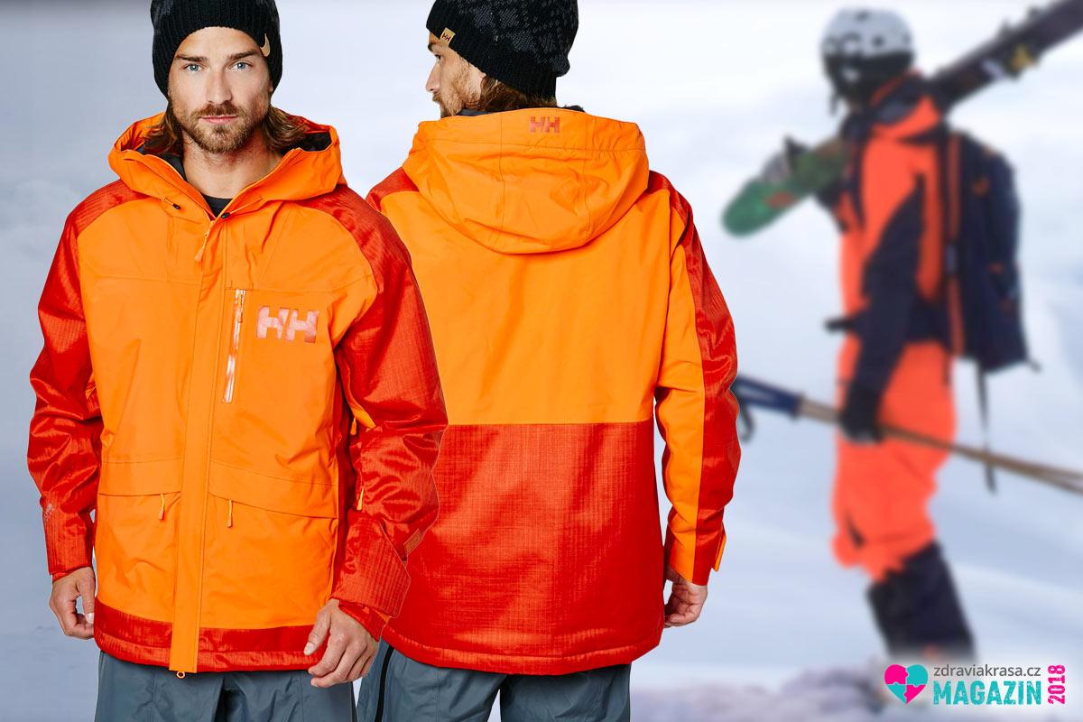 Funkční pánská zimní bunda Helly Hansen.